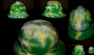 Custom painted john Deere hard hat
