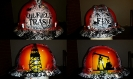 white oilfield hard hat