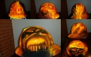 true flames hard hat with skulls custom airbrush painted
