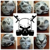 custom motorcycle helmet full face skull design