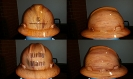 fake wood hard hat design