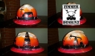 oilfield sunset hard hat