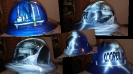 custom painted hard hat pirates and jackups